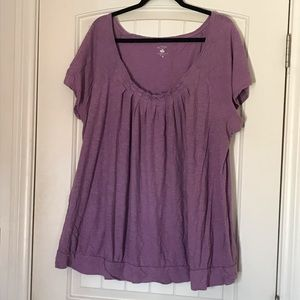 Two Hearts 3X Maternity Top
